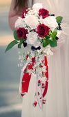 Bride Flowers — Stock Photo