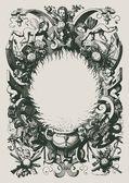 Vintage engraved illustration — Stock Vector