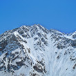 Caucasus mountain under the snow — Stock Photo