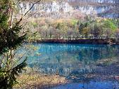 Blå sjöar. caucas — Stockfoto