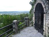 Lermontov's grotto. Pyatigorsk. Caucas — Stock Photo