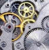 Clockwork close-up — Stock Photo