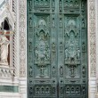 Gate of cathedral in Florence — Stock Photo #5718594