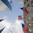 American flags - Stockfoto