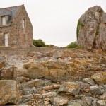 Постер, плакат: Country Breton house on Pink Granite Coast in Brittany