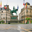 Monument of Joan of Arc in Orleans, France - Stock Photo