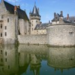 Medieval castle Sully-sur-loire, France — Stock Photo