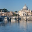 View on St Peter Basilica — Stock Photo