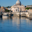 View on St Peter Basilica — Stock Photo #5719393