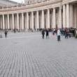Queue in St Peter Basilica — Stock Photo #5719457