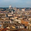View on old town and St Peter Basilica — Stock Photo
