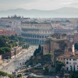 View on road to Coliseum — Stock Photo