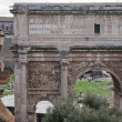 Arch of Septimius Severus — 图库照片