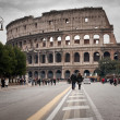 Road to Coliseum — Stock Photo