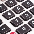 Grey calculator buttons — Stock Photo #5719542