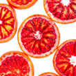 Sliced blood orange — Stock Photo