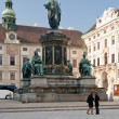 Franzensplatz or Inner Hofburg square in Vienna, Austria — Stock Photo #5719605