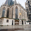 St StephCathedral, Vienna, Austria — Stock Photo #5719628