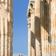Stock Photo: Corinthicolumns of Temple of Zeus, Athens