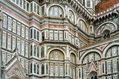 Wall The Basilica di Santa Maria del Fiore — Stock Photo