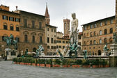 View on Piazza della Signoria in Florence — Stock Photo