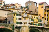 Ver en ponte vecchio de florencia — Foto de Stock