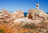 Faro de las rocas — Foto de Stock