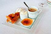 Sada sladký dezert — Stock fotografie