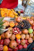 Fruit shopboard — Stock Photo