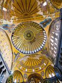 Cupola on Hagia Sophia, Istanbul — Stock Photo