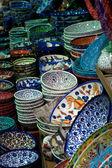 Asian plates — Stock Photo