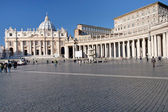 St Peter Square in Vatican — Stock Photo