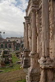 Column of Arch Septimius Severus — Stock Photo