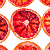 Sliced blood orange — Stock Photo