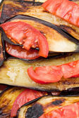 Fried eggplant — Stock Photo