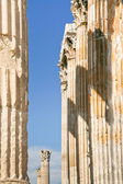 Corinthian columns of Temple of Zeus, Athens — Stock Photo