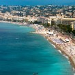 View on Azure coast in Nice - Foto Stock