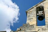 Starý zvon v katedrále — Stock fotografie