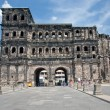 Porta Nigra (antique Roman gate) in Trier, Germany — Stock Photo