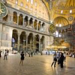 Interior of Hagia Sophia - ancient Byzantine basilica — Stock Photo #5776782
