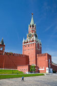 Spasskaya Tower in Moscow — Stock Photo