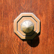 Old metall doorknob — Stock Photo