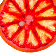 Stock Photo: Sliced blood orange