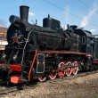Working steam locomotive — Stock Photo #5788960