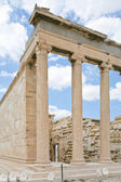 Ionic column of Propylaea, Acropolis — Stock Photo