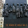 Stock Photo: National Monument to Women of World War II in London