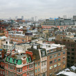 View on London houses — 图库照片
