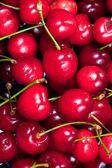 Red sweet cherry — Stock Photo