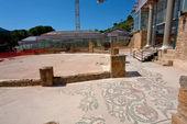 Villa Romana del Casale, Sicily — Stock Photo