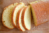 Sliced sicilian bread — Stock Photo